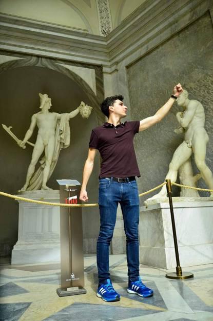 Apollo del Belvedere, Musei Vaticani, Città del Vaticano